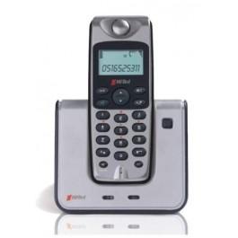 TELEFONO CORDLESS HITEL HT290 VIVAVOCE ID CHIAMANTE SEGRETERIA TELEFONICA FINO A 40 NUMERI IN RUBRICA