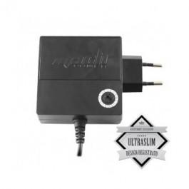 ALIMENTATORE UNIVERSALE MACH POWER CB-SS120B SLIM NERO USB 120W 8 CONNETTORI