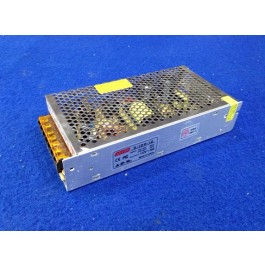 ALIMENTATORE / TRASFORMATORE TELECAMERE S-120-12 12V 10A 100V 220V CASE IN METALLO