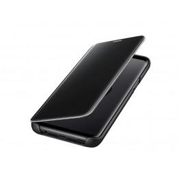 GALAXY S9 CLEAR VIEW STANDING COVER / CUSTODIA A LIBRO PER CELLULARE SAMSUNG EF ZG960CBEGWW NERO 24 MESI GARANZIA UFFICIALE