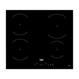 PIANO COTTURA BEKO HII 64430 GT 60 CM A INDUZIONE 4 FUOCHI 9 LIVELLI DI COTTURA COMANDI TOUCH REFURBISHED VETRO NERO