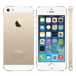 SMARTPHONE APPLE iPhone 5S 16GB Touch ID LTE iOS 8 Wi-Fi FOTOCAMERA 8 MPX REFURBISHED GRADO A++ GOLD