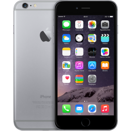 IPHONE 6 PLUS APPLE 64 Gb 4G LTE CHIP A8 TOUCH ID IOS 8 8 Mpx FOCUS PIXEL REFURBISHED GRADO A++ GRIGIO SIDERALE