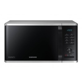 FORNO MICROONDE SAMSUNG MG23K3515AS GRILL 23 L 800 W 6 LIVELLI DI POTENZA ECO MODE DISPLAY LED LIBERA INSTALLAZIONE REFURBISHED SILVER