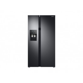 FRIGORIFERO SAMSUNG SIDE BY SIDE RS51K54F02C 535 L NERO DISPENSER NO FROST DIGITAL INVERTER REFURBISHED CLASSE A+