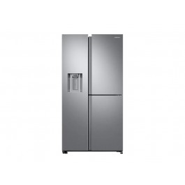 FRIGORIFERO SAMSUNG SIDE BY SIDE RS68N8670SL 3 PORTE SERIE 8000 INOX 604 L NO FROST PREMIUM DISPENSER ACQUA E GHIACCIO REFURBISHED CLASSE A+