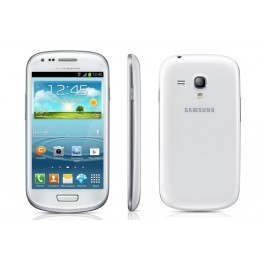 SMARTPHONE SAMSUNG GALAXY S III MINI GT I8200 / GT I8190 SUPER AMOLED DUAL CORE 8 GB WIFI 5 MPX REFURBISHED BIANCO