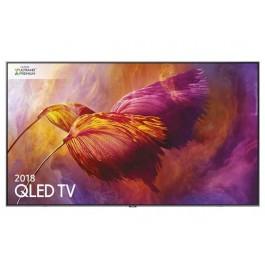TV 65'' SAMSUNG QE65Q8DNAT QLED SERIE 8 Q8D 2018 4K ULTRA HD SMART WIFI 3600 PQI HDMI USB SILVER / INOX SENZA BASE CON STAFFA A MURO