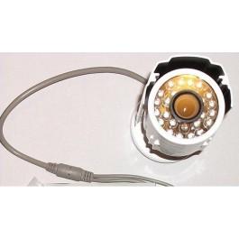 TELECAMERA VIDEOSORVEGLIANZA CCTV CON OTTICA SONY 1/3 CCD CAMERA 540TVL AFQ-8821