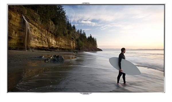 "TV 46"" SAMSUNG UE46ES8000 SERIE 8 LED FULL HD SMART WIFI 3D 800 HZ USB HDMI SCART REFURBISHED SILVER / INOX"