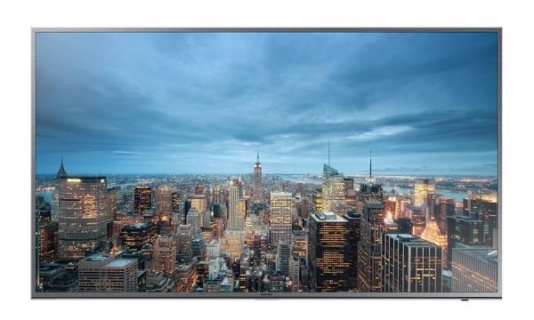 "TV 55"" SAMSUNG UE55JU6800 LED SERIE 6 4K ULTRA HD SMART WIFI 1400 PQI HDMI USB SILVER / INOX REFURBISHED SENZA BASE CON STAFFA A MURO"