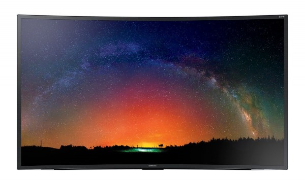 "TV 65"" SAMSUNG UE65JS8500 LED SERIE 8 CURVO SUHD 4K 3D SMART WIFI 1900 PQI USB HDMI SENZA BASE CON STAFFA A MURO"