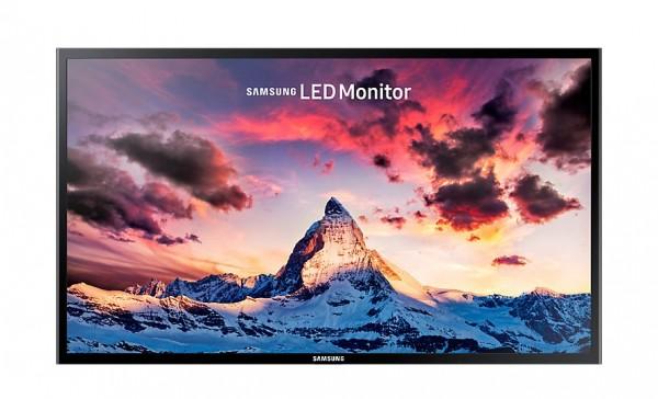 "MONITOR 27"" SAMSUNG LS27F350FHUXEN LED FULL HD HDMI NERO REFURBISHED SENZA BASE"