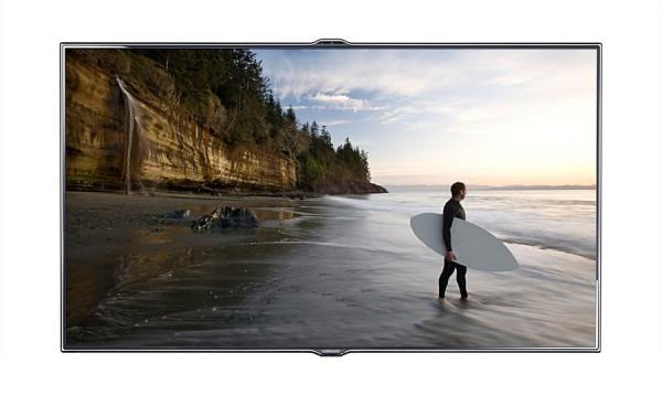 "TV 55"" SAMSUNG UE55ES7000 LED SERIE 7 FULL HD 3D SMART WIFI 800 HZ HDMI USB SCART WEBCAM REFURBISHED SENZA BASE CON STAFFA A MURO"