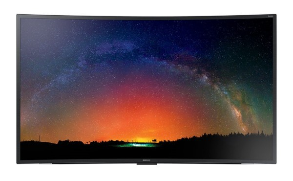 "TV 55"" SAMSUNG UE55JS8500 LED SERIE 8 SUHD 4K CURVO SMART WIFI 3D 1900 PQI HDMI USB REFURBISHED SENZA BASE CON STAFFA A MURO"