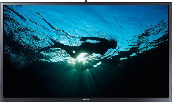 "TV 64"" SAMSUNG PS64F8500 SERIE 8 PLASMA FULL HD 3D SMART WIFI 600 HZ HDMI USB REFURBISHED SENZA BASE CON STAFFA A MURO"