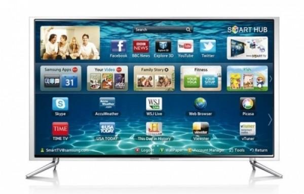 "TV 46"" SAMSUNG UE46F6800 LED SERIE 6 FULL HD SMART WIFI 3D 400 HZ DOLBY DIGITAL PLUS HDMI USB SCART REFURBISHED CLASSE A+"