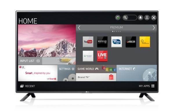 """TV LG 50"""" 50LF580V LED FULL HD SMART WI-FI 400 PMI USB HDMI SCART REFURBISHED CLASSE A+"""