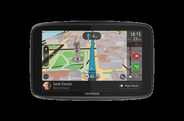 "NAVIGATORE SATELLITARE / GPS / TOMTOM GO 6200 4PL60 6"" WIFI AUTOVELOX TRAFFIC SIM CHIAMATA IN VIVAVOCE 24 MESI GARANZIA UFFICIALE"