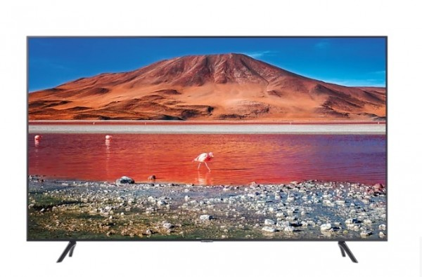 "TV 65"" SAMSUNG UE65TU7170 LED SERIE 7 2020 CRYSTAL 4K ULTRA HD SMART WIFI 2000 PQI HDMI USB REFURBISHED CARBON SILVER"
