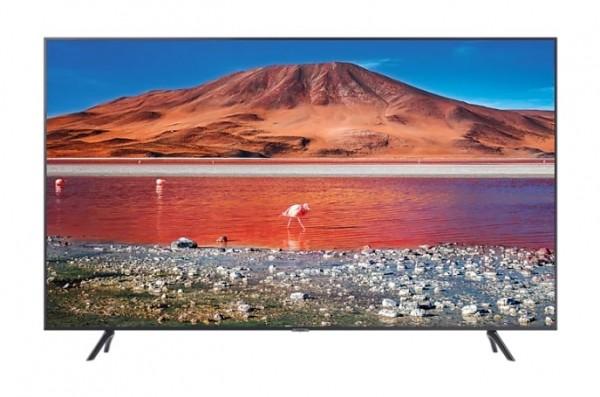 "TV 55"" SAMSUNG UE55TU7170 LED SERIE 7 2020 CRYSTAL 4K ULTRA HD SMART WIFI 2000 PQI HDMI USB REFURBISHED CARBON SILVER"