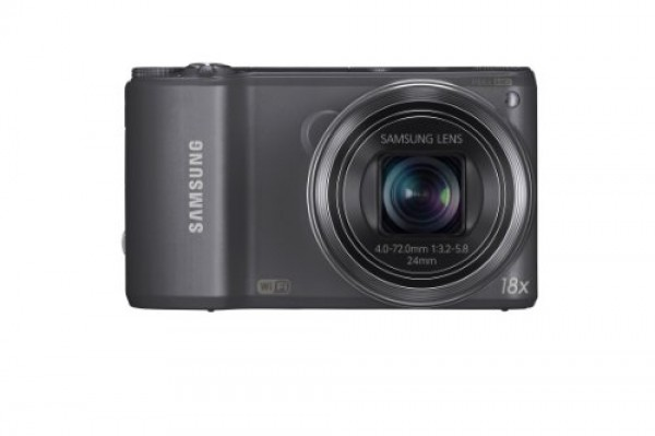 "FOTOCAMERA SAMSUNG WB250F SMART 3"" HYBRID TOUCH SCREEN 16 Mpx 18X WI-FI REFURBISHED GUN METAL"