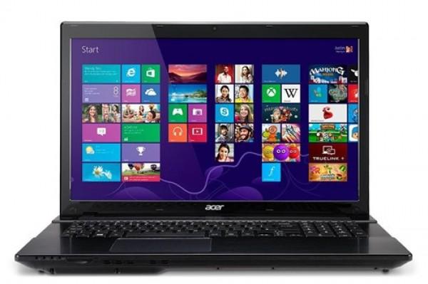 "NOTEBOOK ACER ASPIRE V3-772G-54204G1TMAKK INTEL CORE I5-4200M DUAL CORE 4 GB DDR3 1 TB HDD 17.3"" NVIDIA GEFORCE GT 750M REFURBISHED WINDOWS 8"