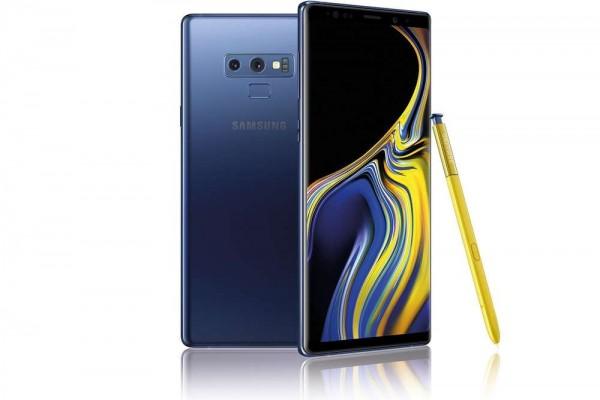 "SMARTPHONE SAMSUNG GALAXY NOTE 9 SM N960F DUAL SIM 6.4"" DUAL EDGE SUPER AMOLED 128 GB OCTA CORE 4G LTE WIFI 12 MP + 12 MP ANDROID REFURBISHED OCEAN BLUE"