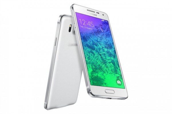 SMARTPHONE SAMSUNG SM G850F GALAXY ALPHA 4G LTE WIFI 32 GB 12 MP OCTA CORE SUPER AMOLED REFURBISHED BIANCO