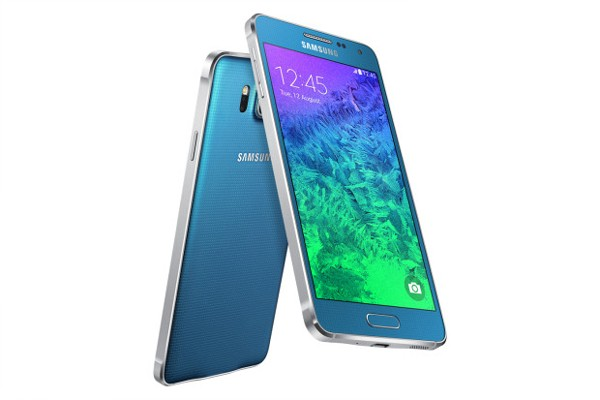 SMARTPHONE SAMSUNG SM G850F GALAXY ALPHA 4G LTE WIFI 32 GB 12 MP OCTA CORE SUPER AMOLED REFURBISHED CELESTE