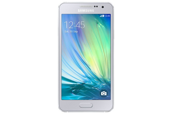 SMARTPHONE SAMSUNG GALAXY A3 SM A300F QUAD CORE SUPER AMOLED 4G LTE 16 GB 8 MP WIFI ANDROID REFURBISHED SILVER