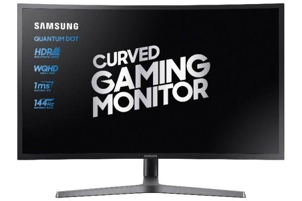 PRO GAMING MONITOR CURVO 32'' SAMSUNG LC32HG70QQUXEN WQHD 2K HDR 144 HZ HUB USB REFURBISHED HDMI