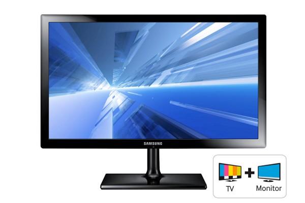"MONITOR TV 24"" SAMSUNG LT24C350EW LED FULL HD ALTOPARLANTI INTEGRATI HDMI USB DVB-C / DVB-T NERO REFURBISHED CLASSE A"