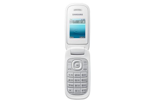 TELEFONO CELLULARE SAMSUNG GT E1270 A CONCHIGLIA GSM REFURBISHED BIANCO