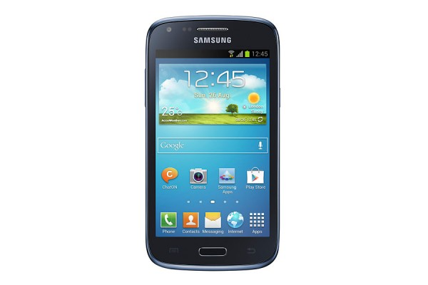 "SMARTPHONE SAMSUNG GALAXY CORE GT I8260 4.3"" 8 GB DUAL CORE 3G WIFI 5 MP ANDROID REFURBISHED BLU"