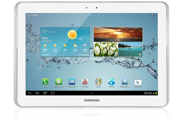 "TABLET SAMSUNG GALAXY TAB 2 GT P5100 10.1"" 16 GB 3G WIFI BLUETOOTH 3 MP ANDROID REFURBISHED BIANCO"