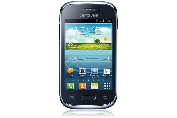 SMARTPHONE SAMSUNG GALAXY YOUNG GT S6310N 4 GB WIFI 3 MP ANDROID REFURBISHED BLU