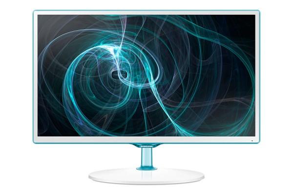 "MONITOR TV 24"" SAMSUNG LT24D391EW PLS LED FULL HD USB HDMI SCART REFURBISHED BIANCO"