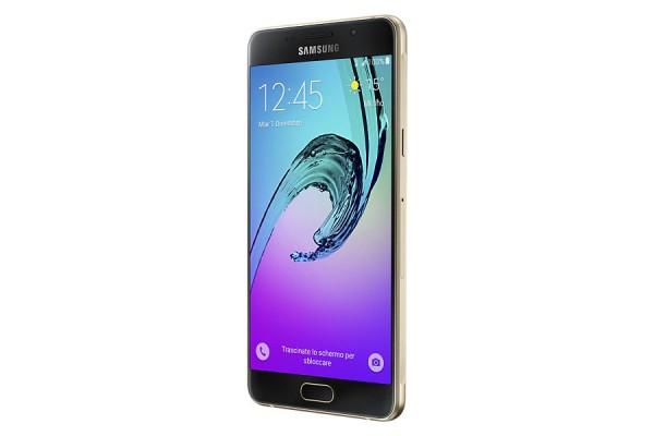 "SMARTPHONE SAMSUNG GALAXY A5 (2016) SM A510F 16 GB OCTA CORE 5.2"" SUPER AMOLED 13 MP 4G LTE WIFI BLUETOOTH ANDROID REFURBISHED GOLD"