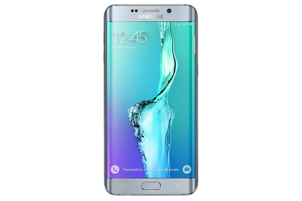 SMARTPHONE SAMSUNG GALAXY S6 EDGE PLUS SM G928F 32GB  OCTA CORE 4G LTE SUPER AMOLED QUAD HD REFURBISHED SILVER TITANIUM