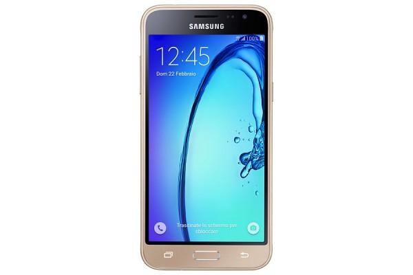 "SMARTPHONE SAMSUNG GALAXY J3 (2016) SM J320F 5"" SUPER AMOLED 8 GB QUAD CORE 4G LTE WIFI BLUETOOTH 8 MP ANDROID REFURBISHED ORO"