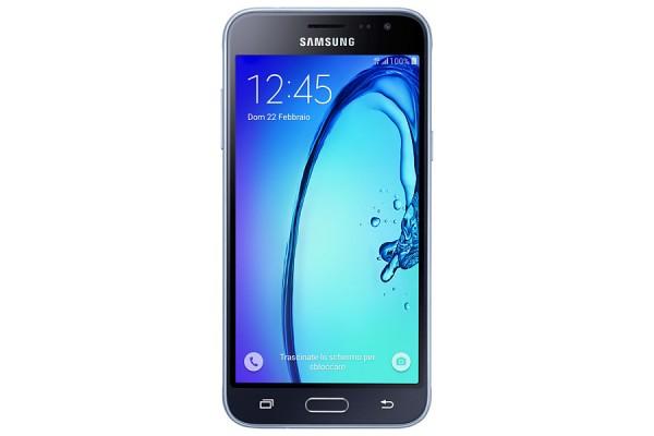 "SMARTPHONE SAMSUNG GALAXY J3 (2016) SM J320F 5"" SUPER AMOLED 8 GB QUAD CORE 4G LTE WIFI BLUETOOTH 8 MP ANDROID REFURBISHED NERO"