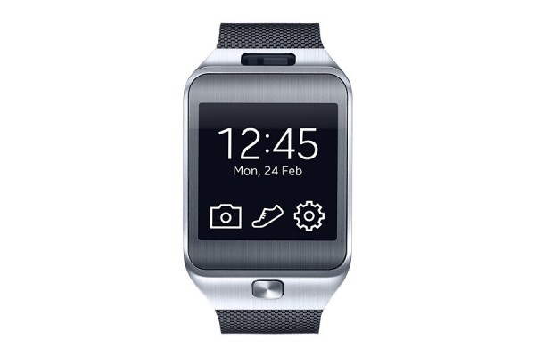 "SMARTWATCH SAMSUNG GEAR 2 SM R380 1.63"" SUPER AMOLED 4 GB DUAL CORE BLUETOOTH REFURBISHED CHARCOAL BLACK"