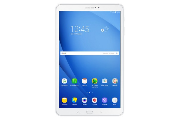 "TABLET SAMSUNG TAB A (2016) SM T580 10.1"" 16 GB OCTA CORE WIFI BLUETOOTH 8 MP ANDROID REFURBISHED BIANCO"