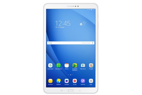 "TABLET SAMSUNG GALAXY TAB A (2016) SM T585 10.1"" 16 GB OCTA CORE 4G LTE WIFI BLUETOOTH 8 MP ANDROID REFURBISHED BIANCO"