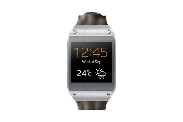 "SMARTWATCH SAMSUNG GALAXY GEAR SM V700 1.63"" SUPER AMOLED BLUETOOTH 4 GB 1,9 MP REFURBISHED SILVER BROWN"