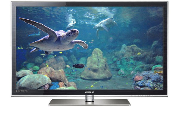 "TV 55"" SAMSUNG UE55C6500 LED SERIE 6 FULL HD 3D 100 HZ HDMI USB SCART REFURBISHED GRIGIO LEGNO"