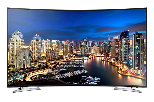 "TV 55"" SAMSUNG UE55HU7100 LED SERIE 7 4K ULTRA HD CURVO SMART WIFI 800 HZ USB HDMI REFURBISHED SCART"