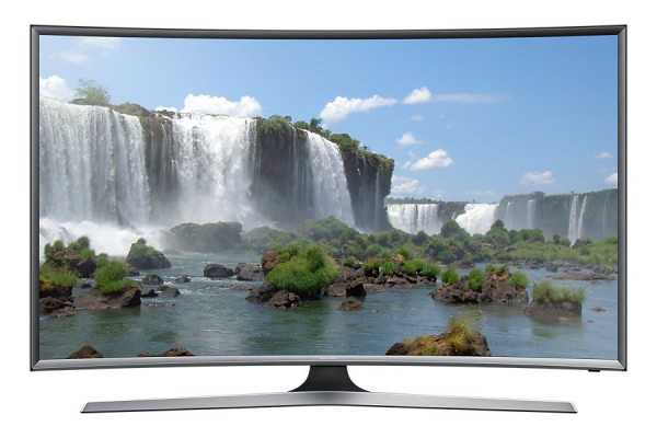 "TV 55"" SAMSUNG UE55J6300 LED SERIE 6 CURVO FULL HD SMART WIFI 800 PQI USB HDMI REFURBISHED SENZA BASE CON STAFFA A MURO"