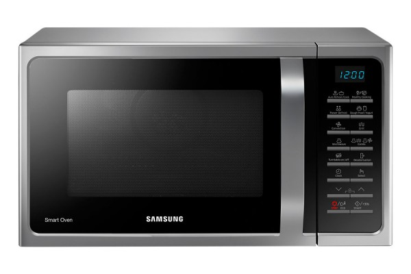 FORNO MICROONDE SAMSUNG MC28H5015AS SMART OVEN 28 L GRILL 6 LIVELI DI POTENZA REFURBISHED ARGENTO
